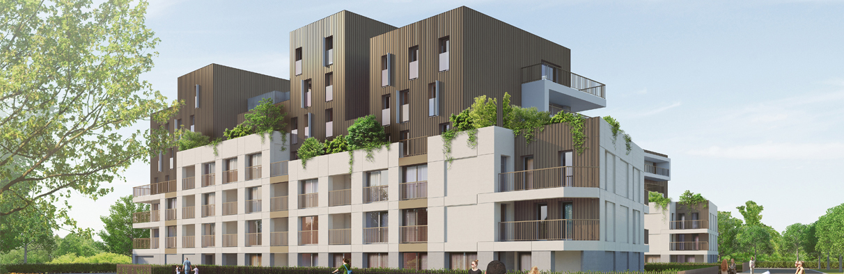 la canopee programme immobilier vernon