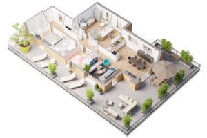 la canopee programme immobilier vernon