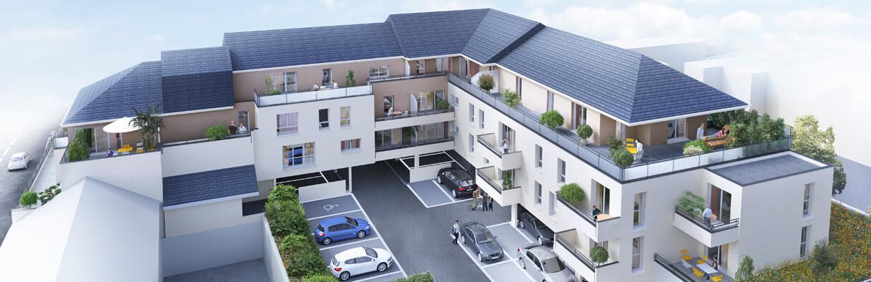 le clos des tisserands programme immobilier Déville lès Rouen