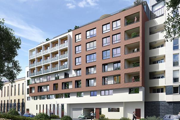 les deux rives programme immobilier Rouen