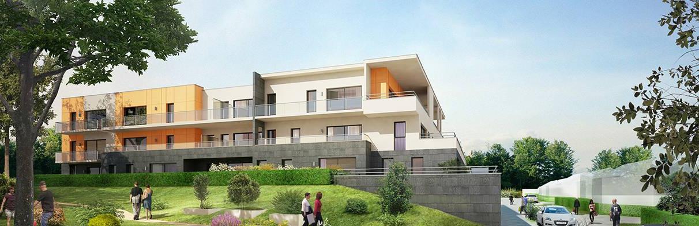 les terrasses du chapitre programme immobilier Bihorel